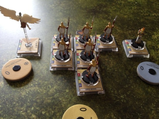 Dungeons & Dragons Attack Wing Team