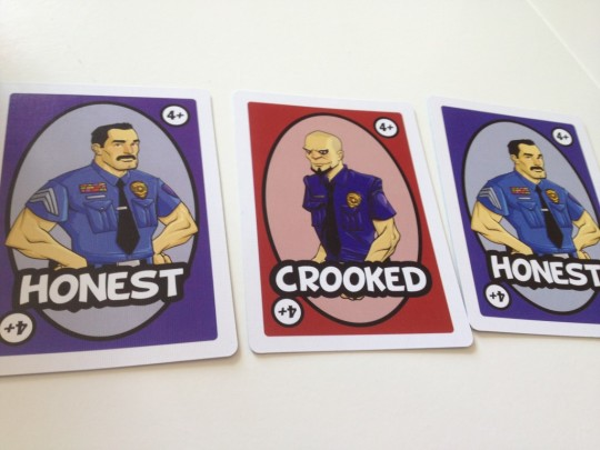 Good Cop Bad Cop Cards