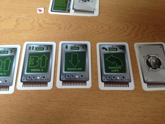 Robo Rally Cards