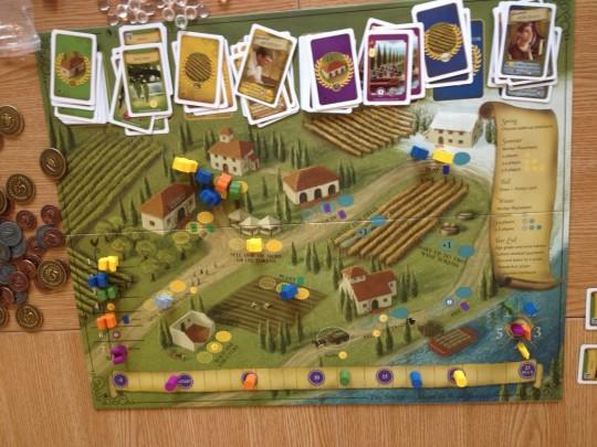 Viticulture Game Board