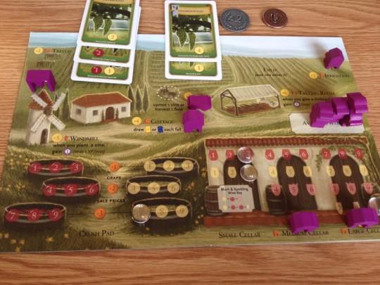 Viticulture Player Board