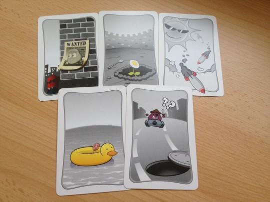 Boom Runaway Ruse Cards