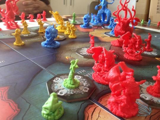 Cthulhu Wars Board