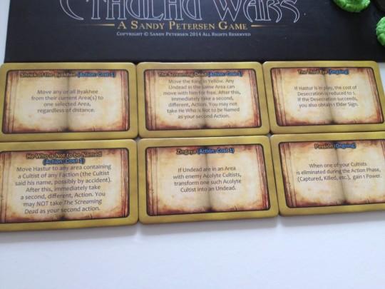 Cthulhu Wars Spells