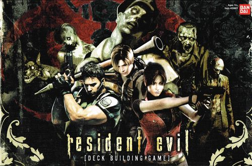 Resident Evil Deck Building Game Box
