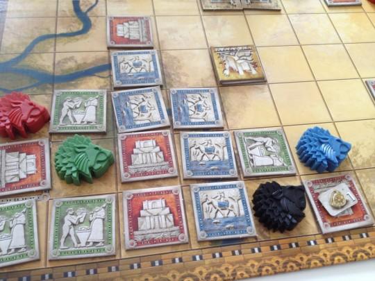 Tigris & Euphrates Player Area