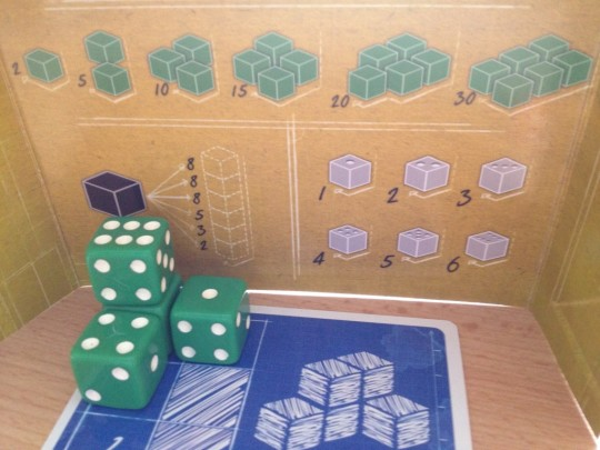 Blueprints Recycled Dice