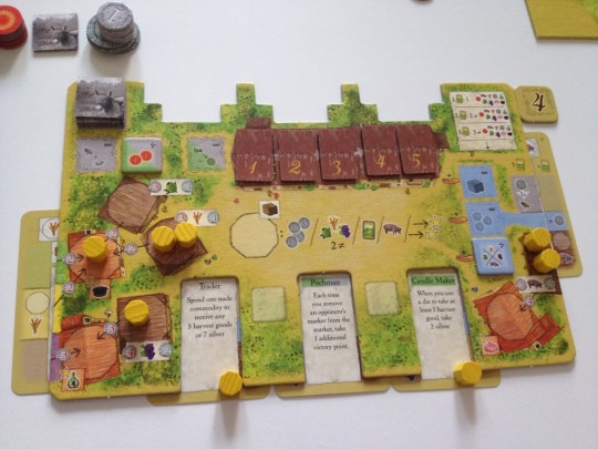 La Granja Player Board