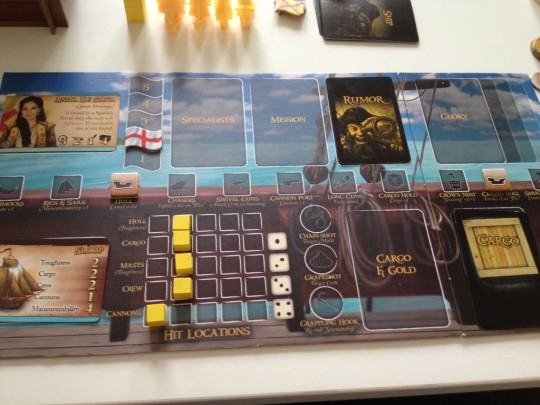 Merchants & Marauders Ship Board