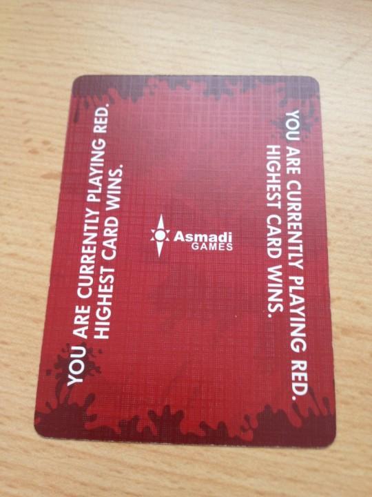 Red7 Start Card
