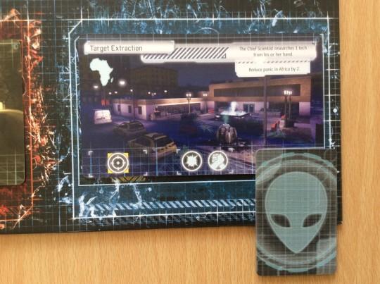XCOM Mission Card