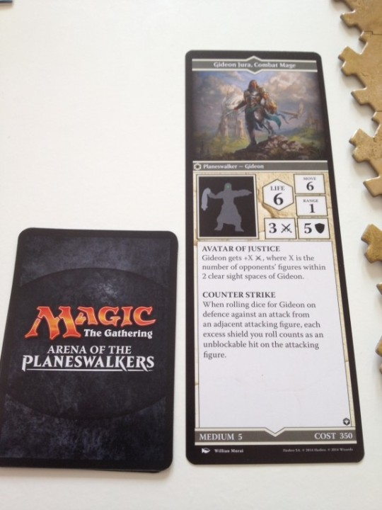 Arena of the Planeswalkers Planeswalker Card