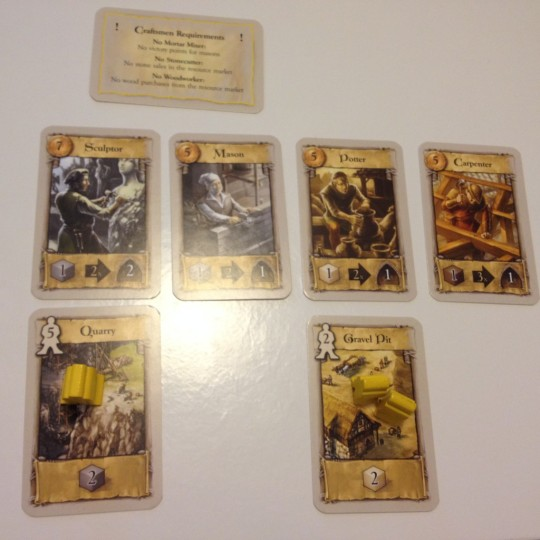 The Pillars of the Earth Player Cards