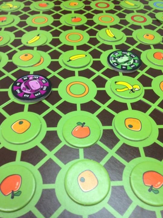 Spin Monkeys Board