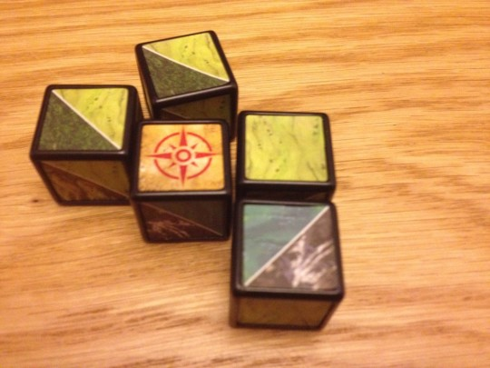 Runebound Terrain Dice