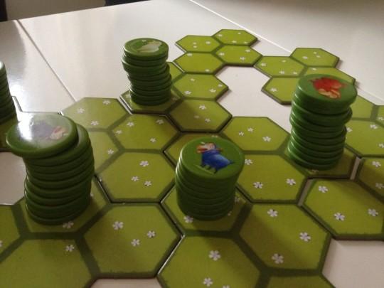 Battle Sheep Board
