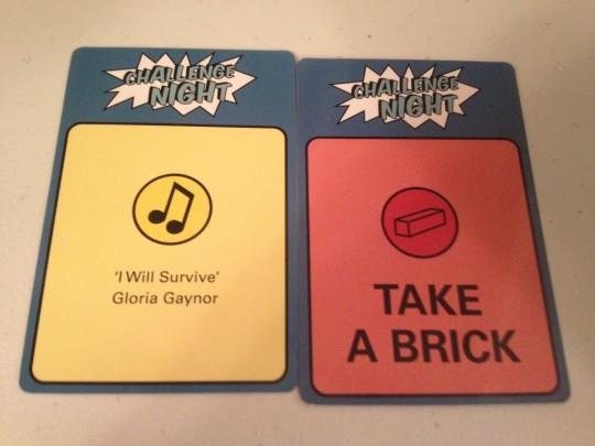 Challenge Night Hum or Take a Brick