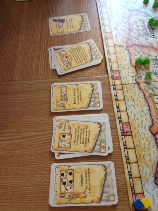 El Grande Action Cards