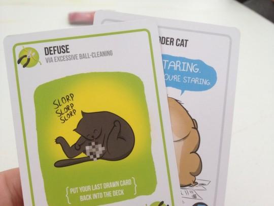 Exploding Kittens Defuse