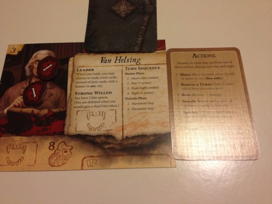Fury of Dracula Character Card