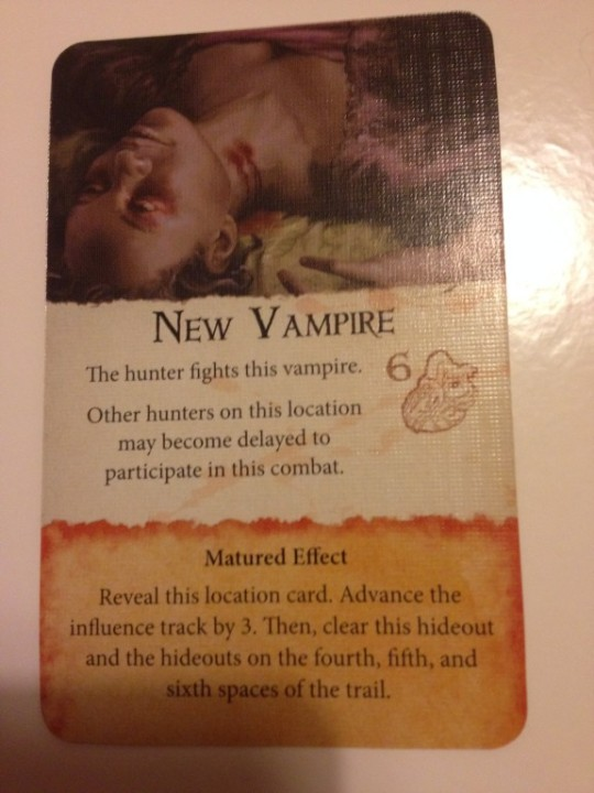 Fury of Dracula New Vampire
