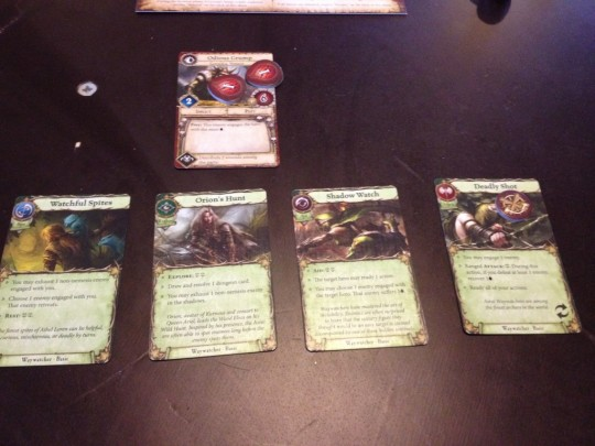 Warhammer Quest the Adventure Card Game Action Cards