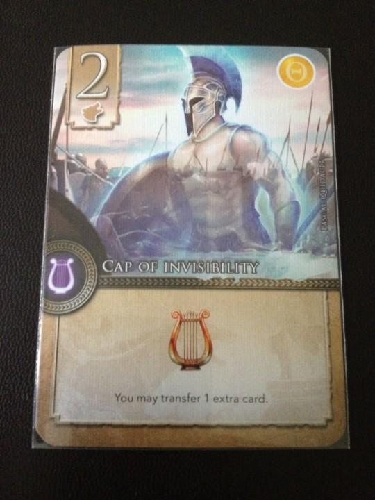 Elysium Lyre Card