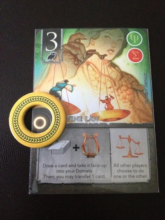 Elysum Circle Card