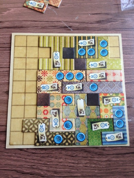 Patchwork Finished Board