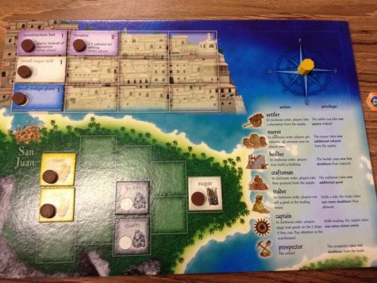 Puerto Rico Player Board