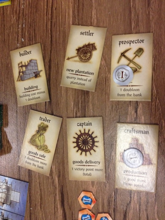 Puerto Rico Role Cards
