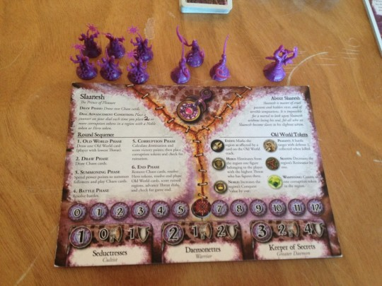 Chaos in the Old World Slaanesh