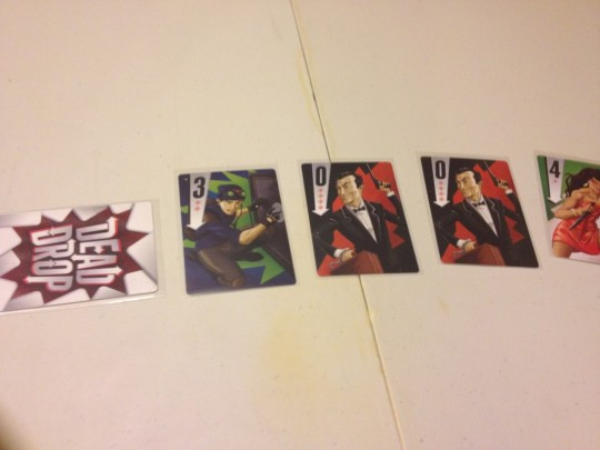 Dead Drop Centre Cards