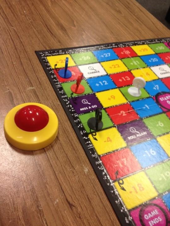 QI The Board Game Board