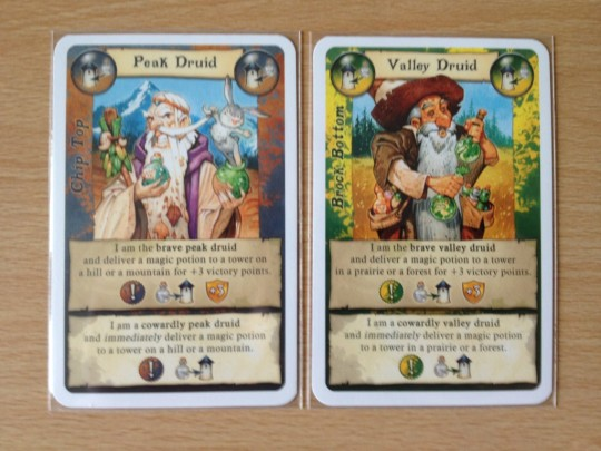 Broom Service Druid Cards