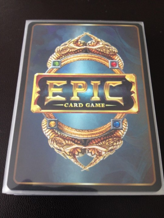 Epic Card Game Starting Deck