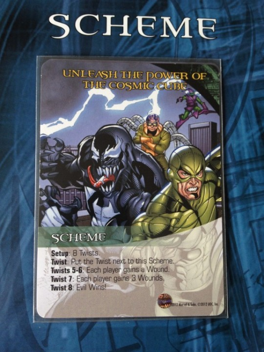Marvel Legendary Scheme Card