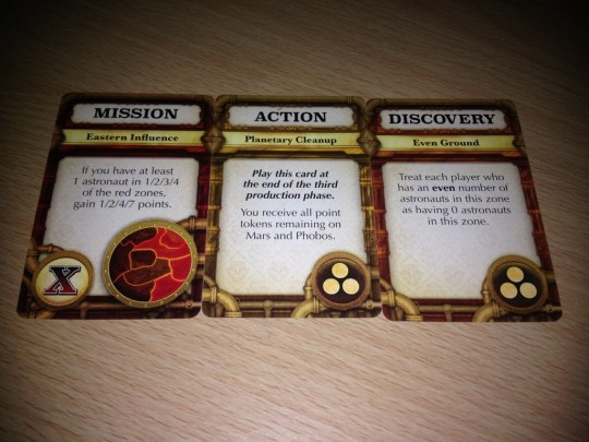 Mission Red Planet Second Edition Cards