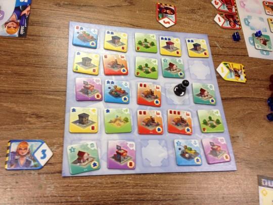 Quadropolis Classic Board