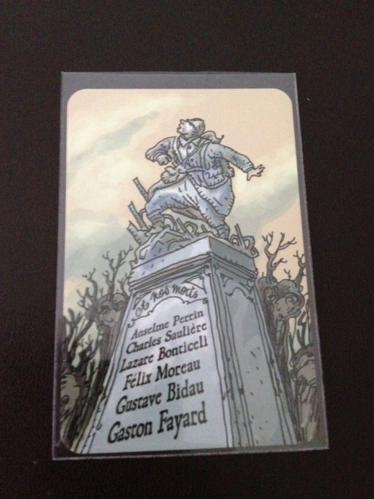 The Grizzled Memorial Card