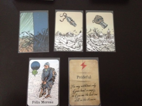 The Grizzled Playing Cards