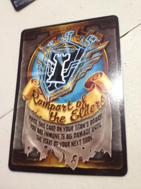 Titan Race Action Card