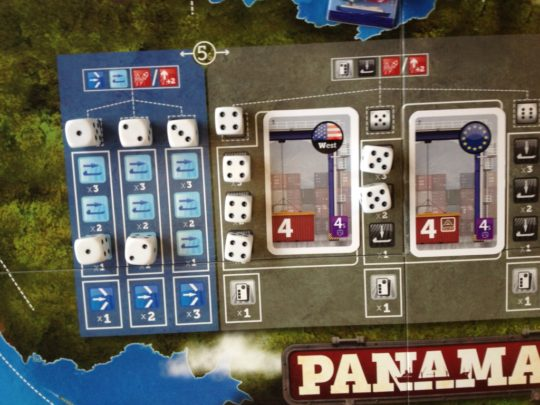 Panamax Dice Drafting