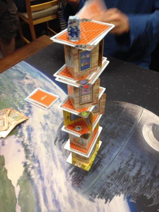 Rhino Hero Tower