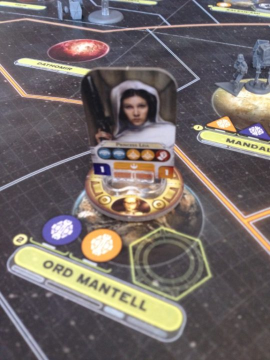 Star Wars Rebellion C3PO Ring