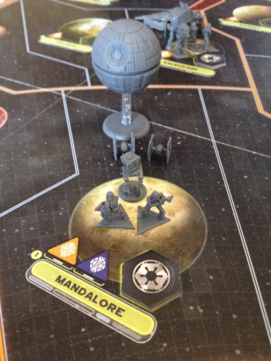 Star Wars Rebellion Imperial System