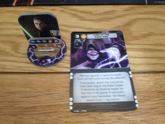 Star Wars Rebellion Luke Dark Side