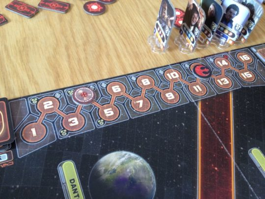 Star Wars Rebellion Time Track