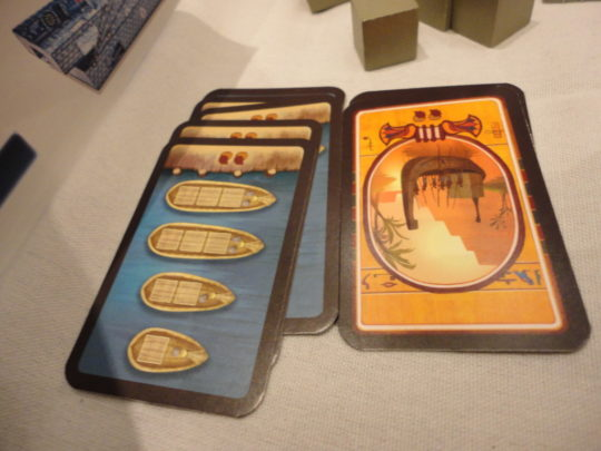 Imhotep Boat Cards