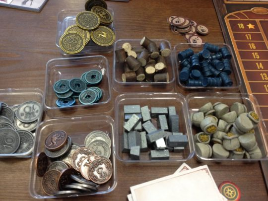 Scythe Coins and Resources